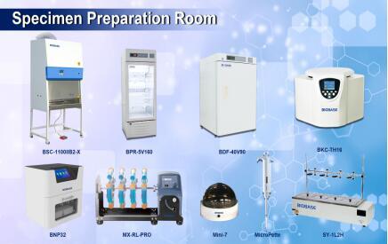 PCR Комната для подготовки образцов